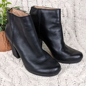 Madewell Caleb Leather Boot 8.5
